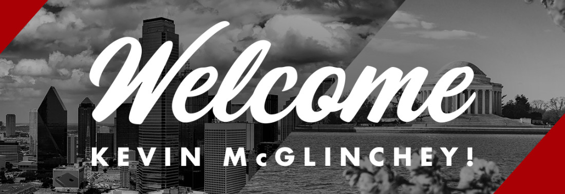 Welcome, Kevin McGlinchey!